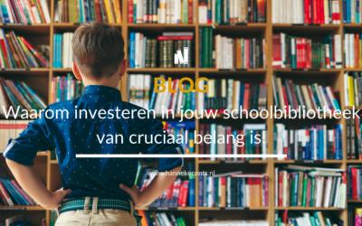 Waarom investeren in jouw schoolbibliotheek van cruciaal belang is!
